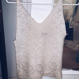 Brandy Melville Tops - Brandy Melville knitted top